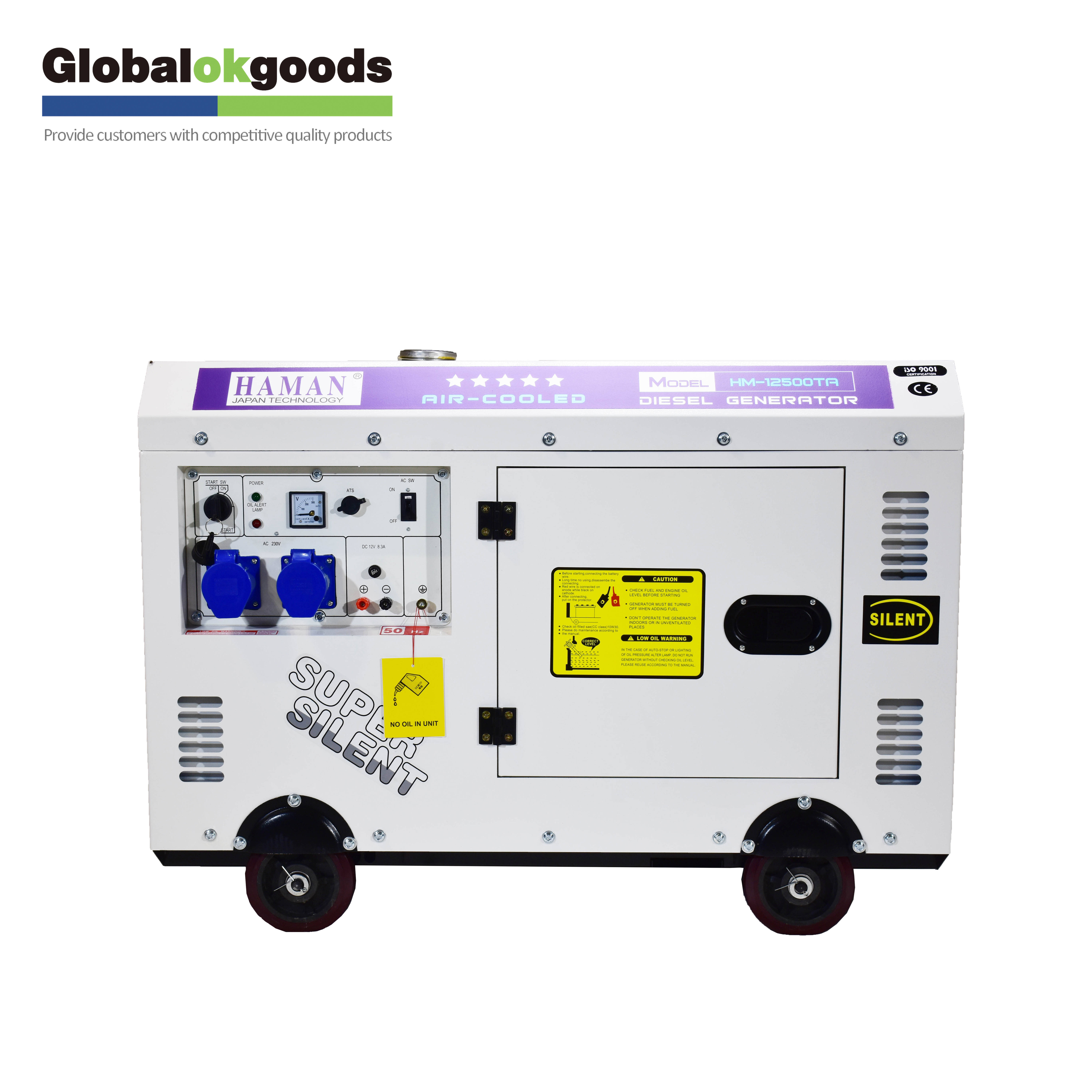 Mini electrical small generators silent for home used 10kva dynamo