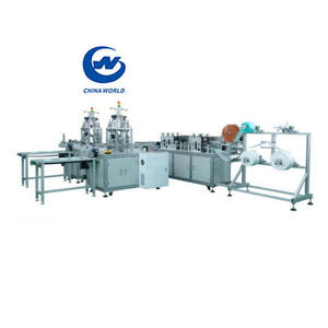 Factory Fast Delivery High Efficiency Frequency Control Medical Surgical Disposable Fully Automatic Making Face Mask Machine