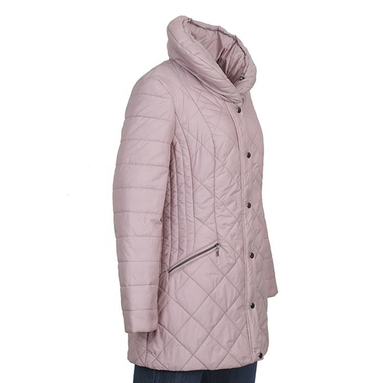 Winter fashion down quilted jackets coats for women