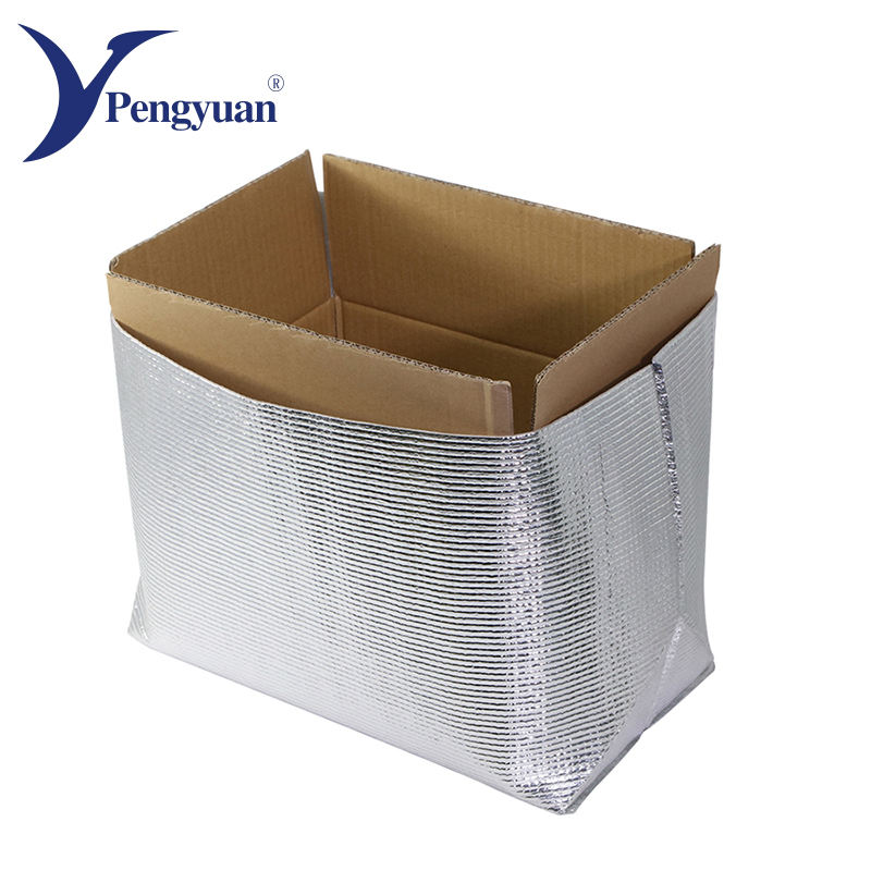 Food grade disposable aluminium insulated cooler bag