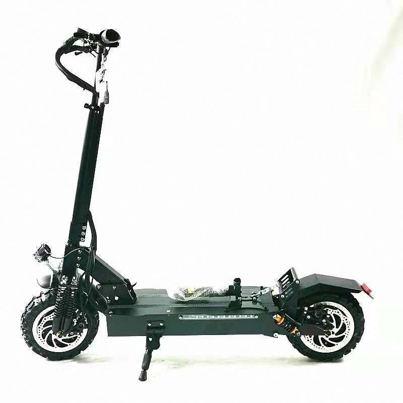 Off-Road Electric Scooter Foldable 60V 1600W*2 Heavy Duty Dual Drive King Of Offroad Electric Scooter