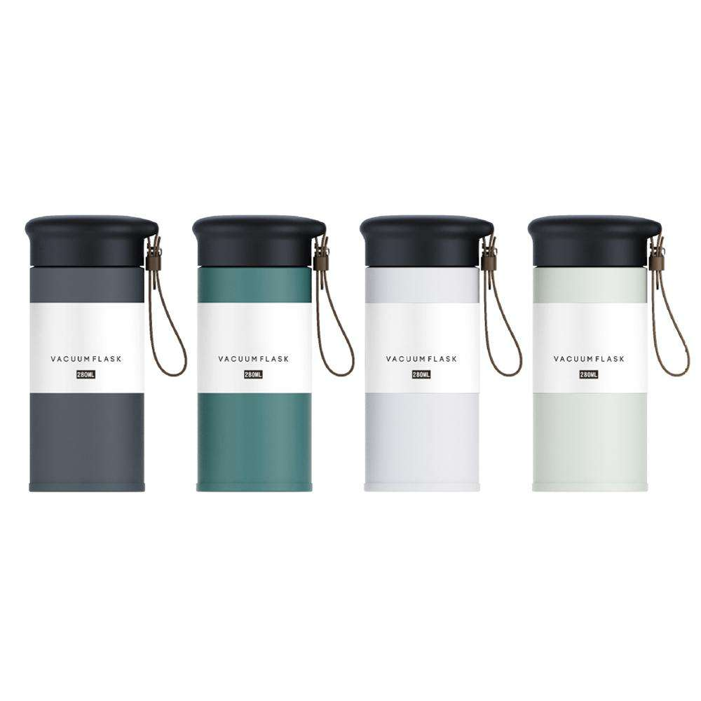 New products 2020 thermo flask double wall vacuum travel stainless steel sell flask thermos stock