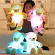 Led Teddy Bear 30cm led plush teddy bears Stuffed Animals Plush Toy Colorful Glowing Christmas Gift for Kids