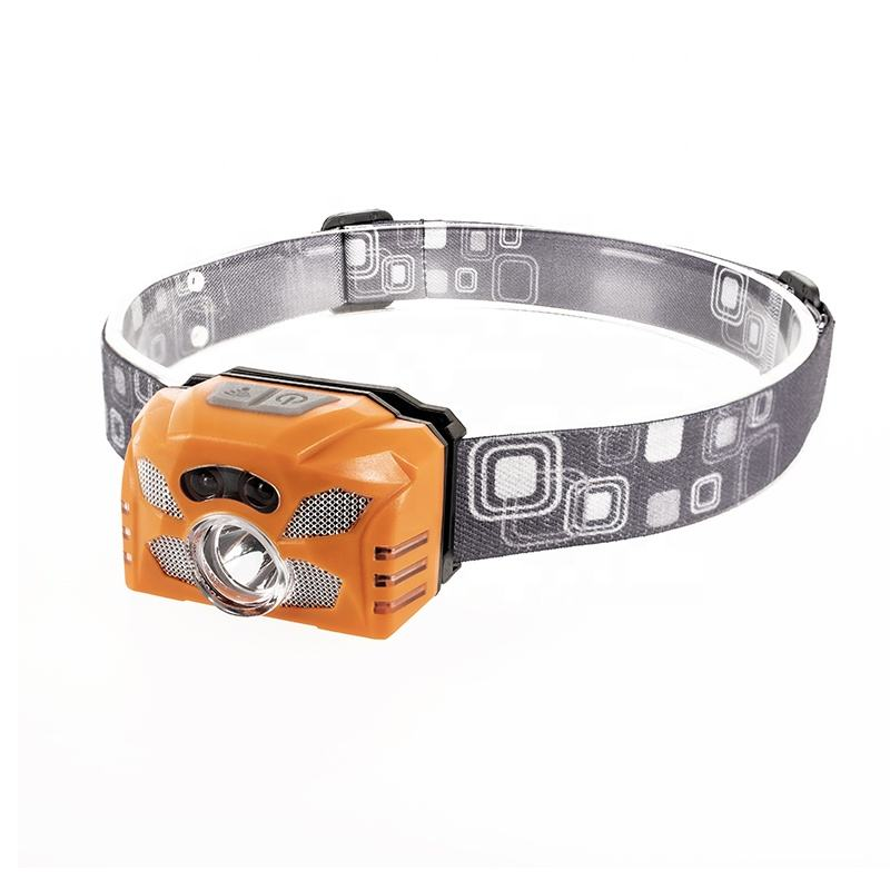 Linhuo lampe frontale led USB Mini Rechargeable Polymer Battery Handsfree LED strinlampe Head Torch Headlamp