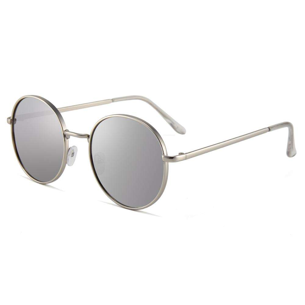 Custom silver mirrored 2020 sunglasses good quality sunglasses shades