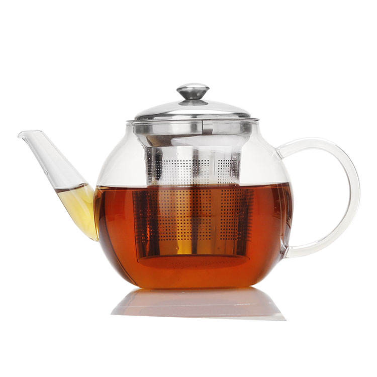 One-Stop Service [ Tea Pot ] Tea Pot Glass Hot Selling Certification FDA LFGB Chinese Tea Pot Glass