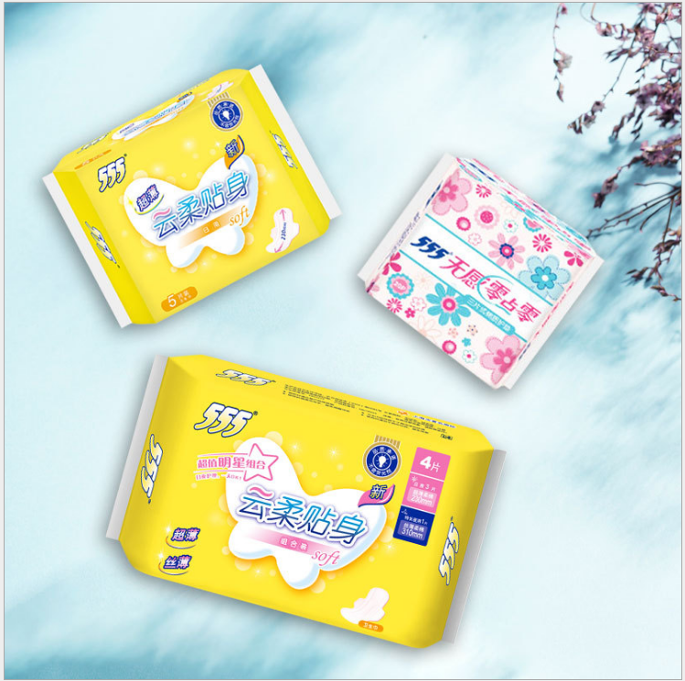 Wholesale china hot selling reusable sanitary pad anion comfort softness daily use 245mm ultra thin pads