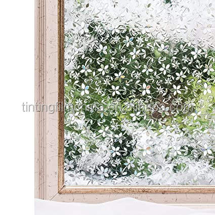 High quality static cling Privacy decorative frosted window film 2D static window film
