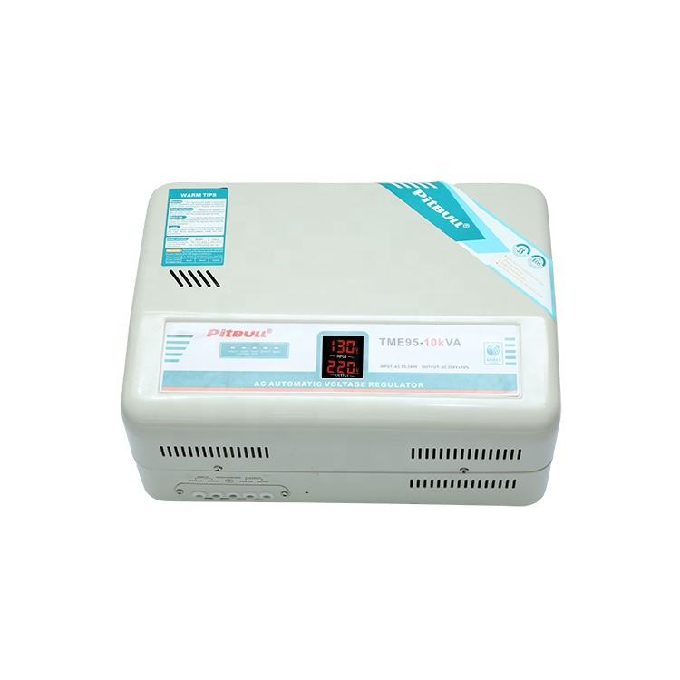 Low no-load loss fast reaction speed voltage stabilizer for electrical equipment