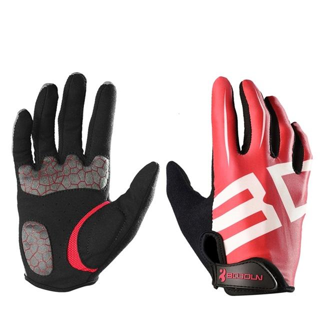 Hot Sale Cycling Gloves free Sample SunScreen Custom Full Finger bicycle Gloves Bike Gloves