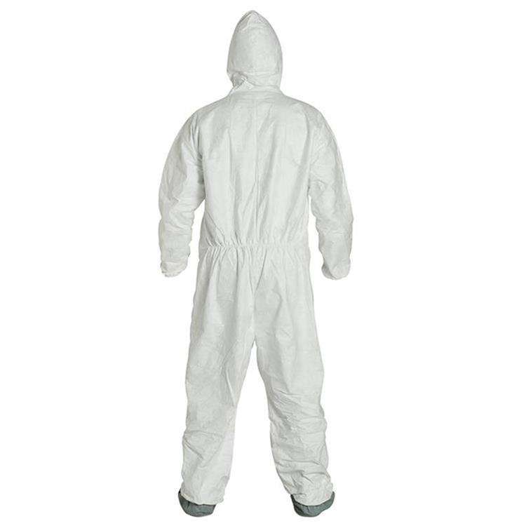 Dupont Cheap Products White Waterproof Protection Disposable Suits Dupont Tyvek 600 500 Xpert 1422 400 Coverall
