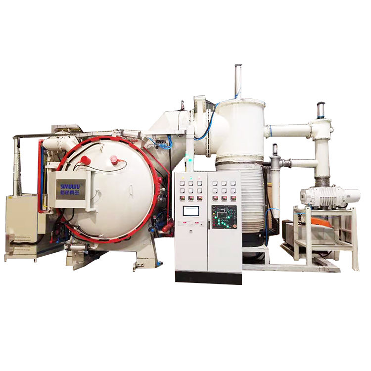 Quality china made lwo temperature aluminum vacuum brazing furnace