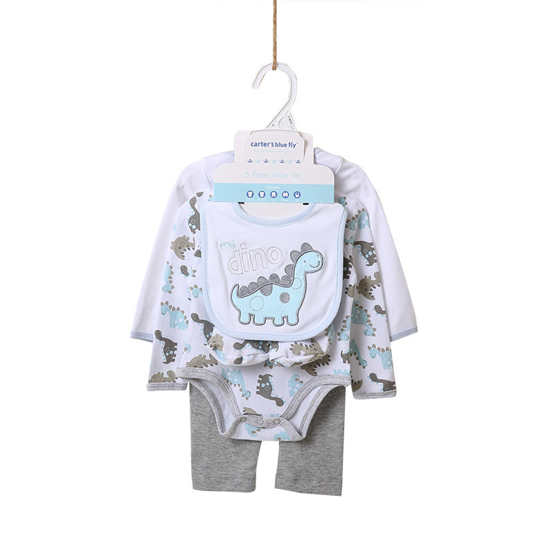 toddler clothing organic embroidered lovely cotton bodysuit baby clothes rompers with bib
