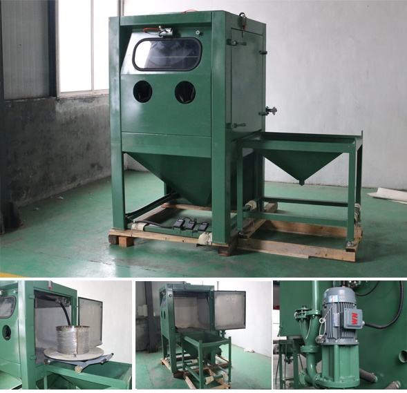 Easy To Operate [ Cabinet Sandblaster Sandblasting ] Wholesale Water Blasting Cabinet Wet Sandblaster Machine Sandblasting Dustless Cabinet