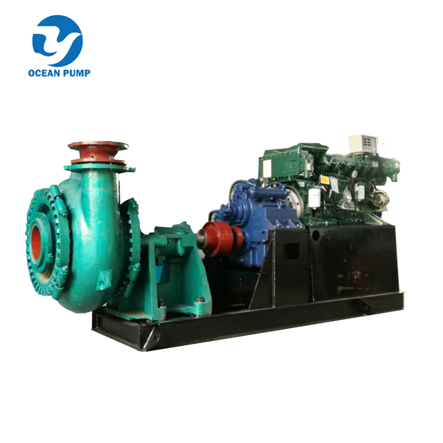 Big Particle Sand Pump Gravel Pump