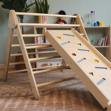 Pikler Triangle Climbing Frame For Children climbing ladder climb toy wooden playground baby school furniture supplies kids toys