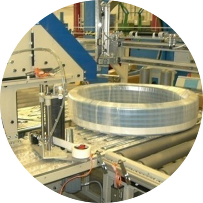 VCI plastic wrapping film for steel and mechanics, automatic packing system wrap stretch film