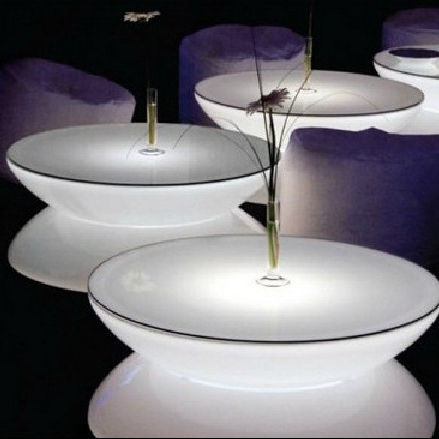unique led round bar table furniture for sale led light bar table