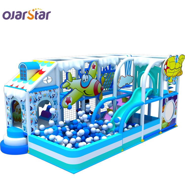 Worldstar amusement park kids soft toddler indoor playground equipment structure