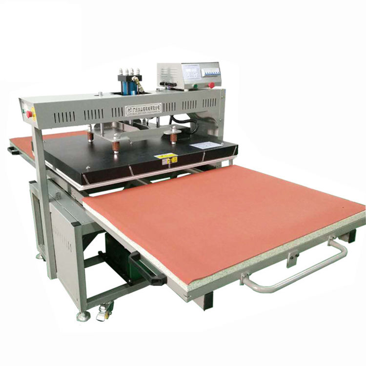 80x100cm and 100x120cm Hot selling double stations large format sublimation heat press