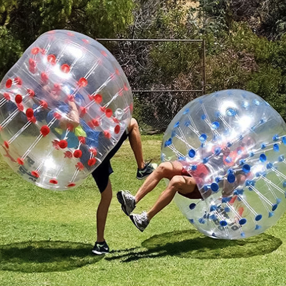 Hot Selling Adult Tpu / PVC Body Zorb Bumper Ball Suit Inflatable Bubble Football Soccer Ball