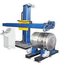 Stainless Steel Fermentation Tank Polishing Buffing Machine
