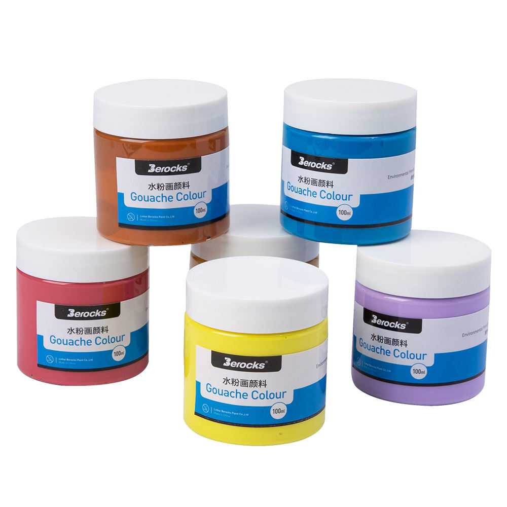 gouache paints 500ml can be customized colors