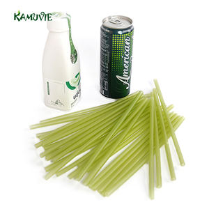 Colorful Biodegradable Edible Drinking Rice Straw With Logo