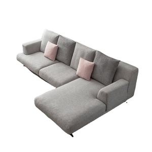 Italian Design Living Room Furniture Full Size Sectional Sofas Soft Feather Sofa Large Corner Sofa
