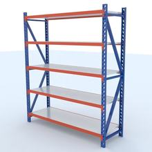 easy-install height adjustable 5 layers metal storage shelf rack