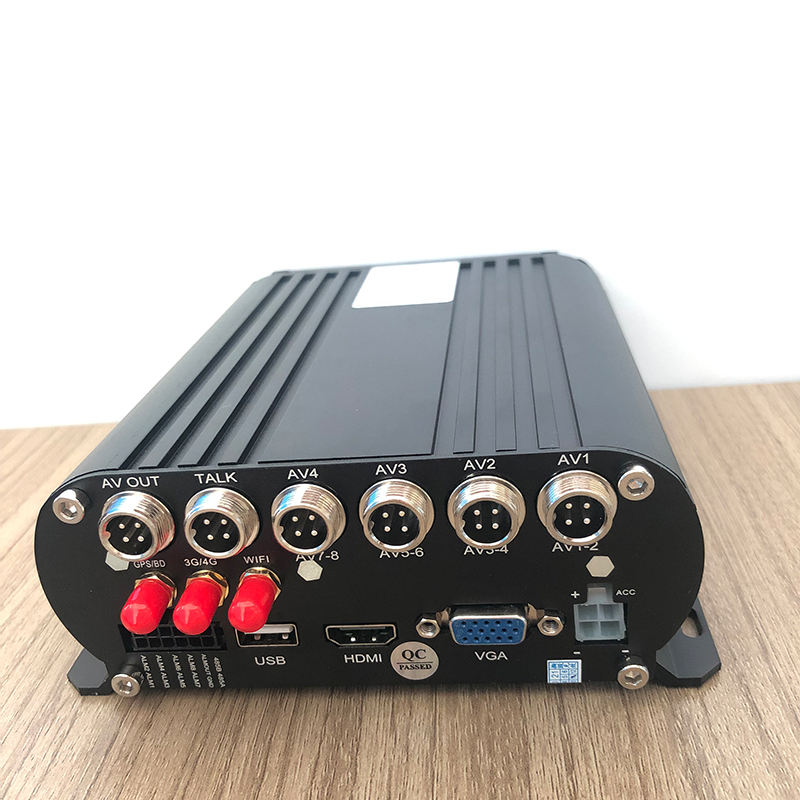 Truck 4CH HDD MDVR 1080P With 4G GPS Wifi Vehicle Black Box CCTV Mobile DVR Security Camera System