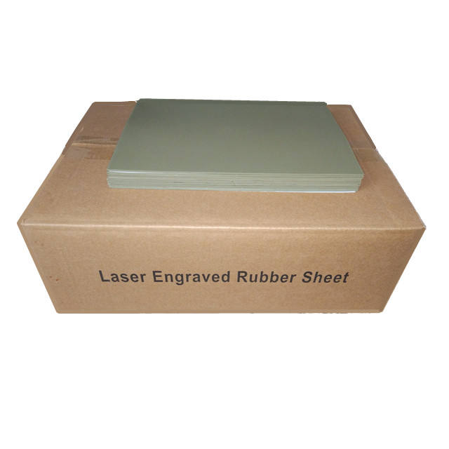 laser rubber for self inking stamp 297x210x2.3mm A4 sheet no smell laser rubber