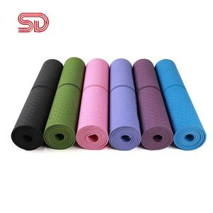 PVC Gymnastic Sport Health Lose Weight Fitness Exercise Pad Women Sport Yoga Mat