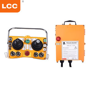 Telecrane hoist crane F24-60 joystick remote control wireless transmitter and receivers