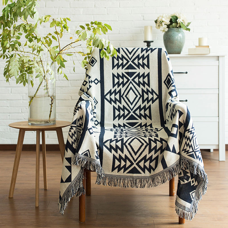 RAWHOUSE cheap mexican bohemian woven low moq aztec travel picnic korean blankets