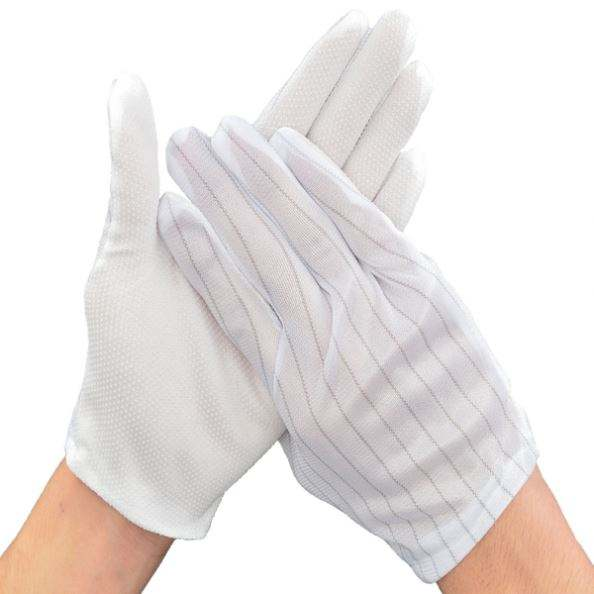 Cleanroom ESD Gloves, Electronic Assembly Antistatic Gloves gloves industrial work