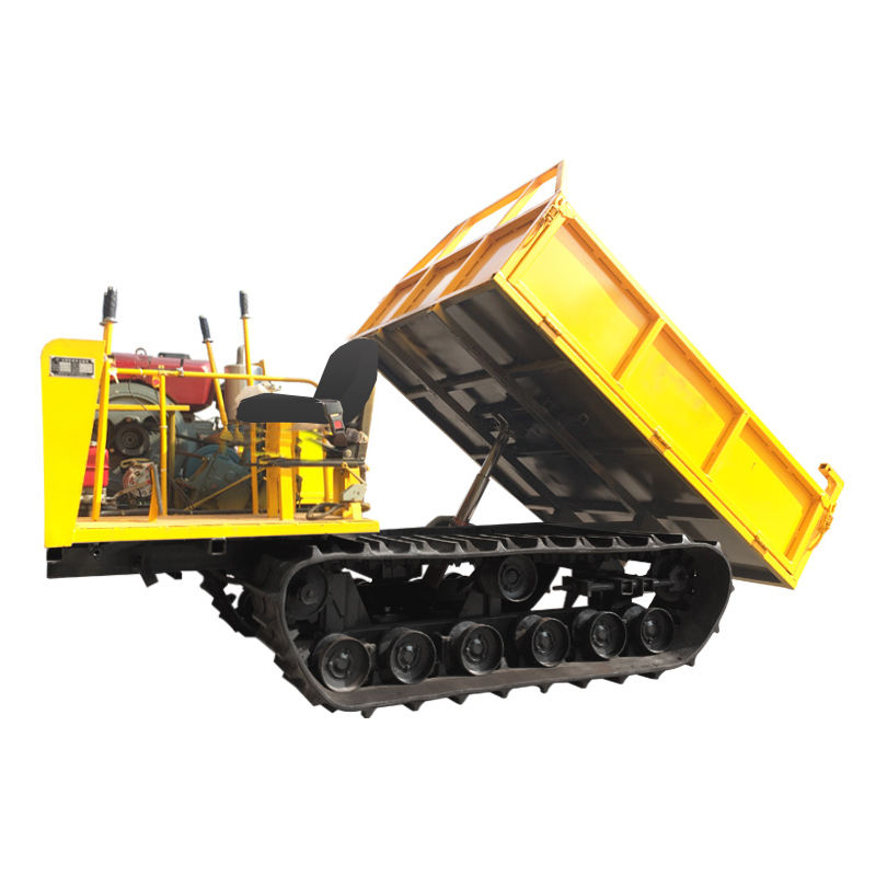 Mini diesel Crawler Track Carrier Mini Crawler Dump Truck