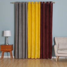 Latest Design Fancy Silk Velvet Curtain for Study Room Window