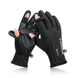 Cycling Gloves Winter Fishing missing fingers outdoor sports