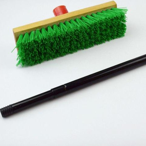 2020 Good Quality Outdoor Push Broom Plastic Handle Supplier