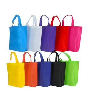 2017 hot sale tote bag non woven wholesale bag for shopping