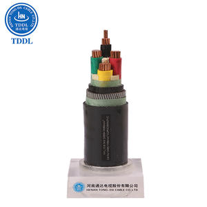 0.6/1kV NYY cable Copper PVC insulated PVC sheathed power cable