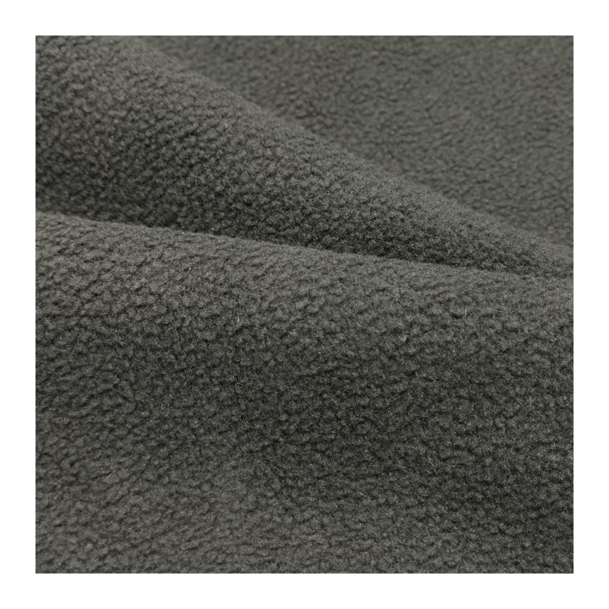 100%Polyester Knitted Polar Fleece two sides brushed one side antipilling Keep Warm for Soft Jacket Garment Fabric