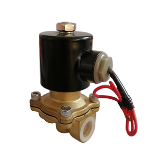Two ways joint water oil solenoid valve