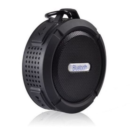 High Quality C6 Super Bass attachable IPX4 WaterProof Bluetooth Speaker Support OEM/ODM Creative Gift
