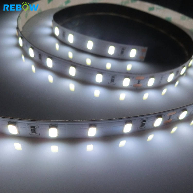 High lumen super bright 12 v 24 v 5630 CRI 95 5500 K led strip 60d