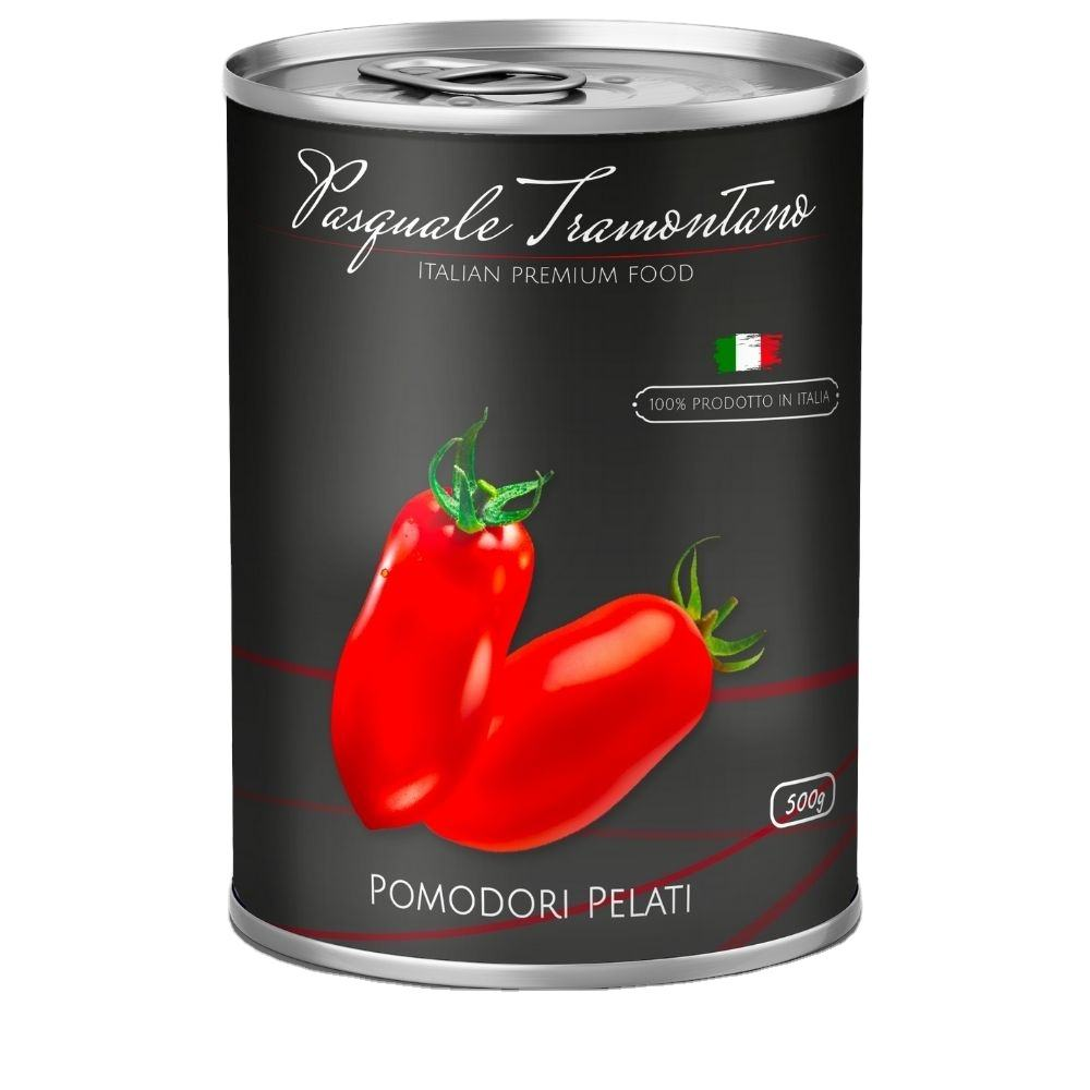 Italian Quality | Peeled Whole Tomato in Easy Open Can 24 x 400g