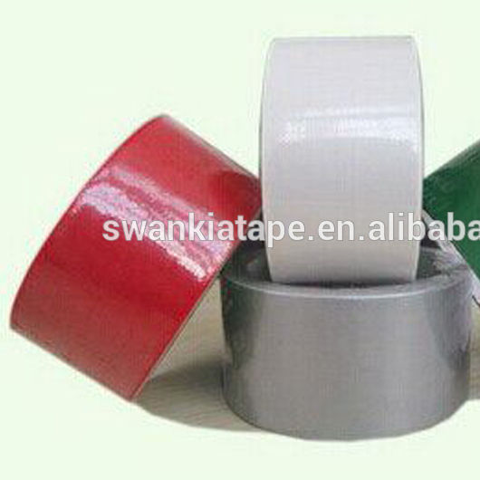 Wholesale waterproof rubber glue high tack cloth duct tape manufacturer