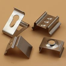 Experienced ISO factory customizable good quality custom metal clips fasteners