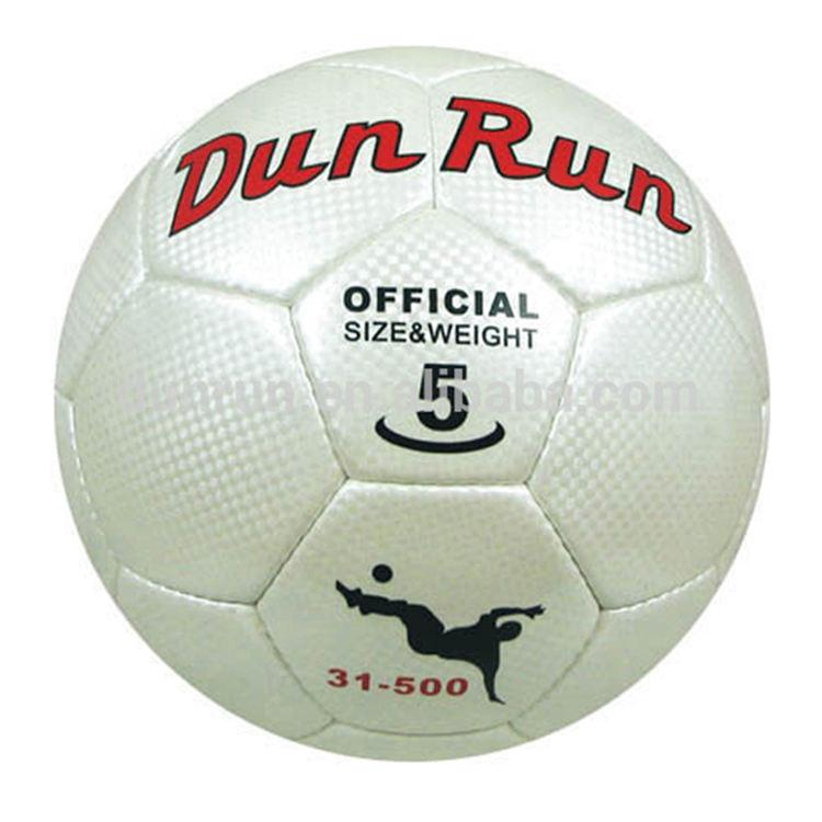 Balles d'entraînement Articles De Sport Impression Personnalisée Pvc Cousu Ballon de Football De Promotion De Taille 5 Football